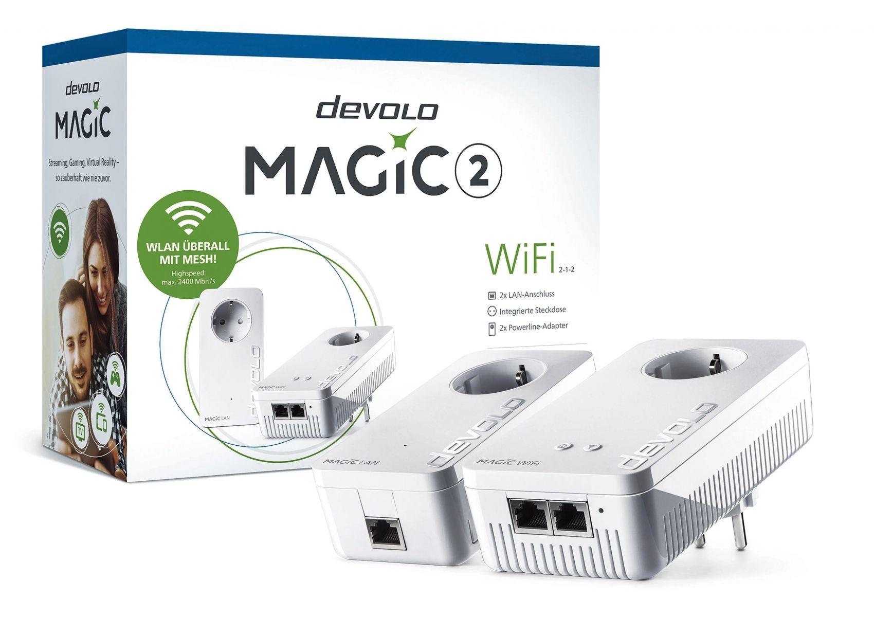 3 Kits Powerline Devolo Magic 2