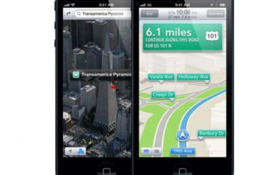 Google Maps - iPhone