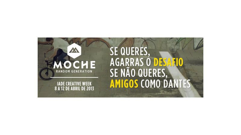 IADE Creative Week by MOCHE 01