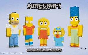 Simpsons-Minecraft