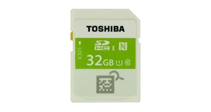 Toshiba SDHC NFC 01