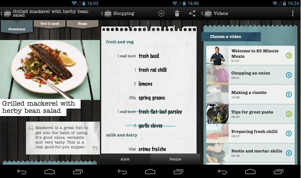 App do Dia - Jamie Oliver