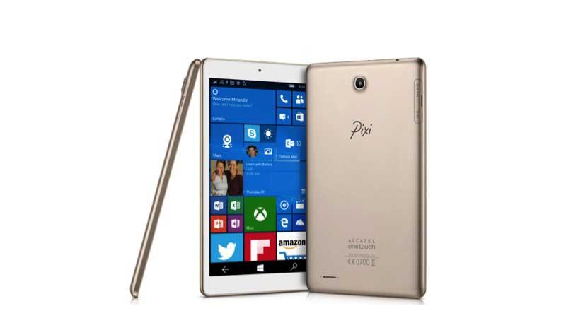 Tablet Pixi 3 da Alcatel OneTouch funciona com o Windows 10