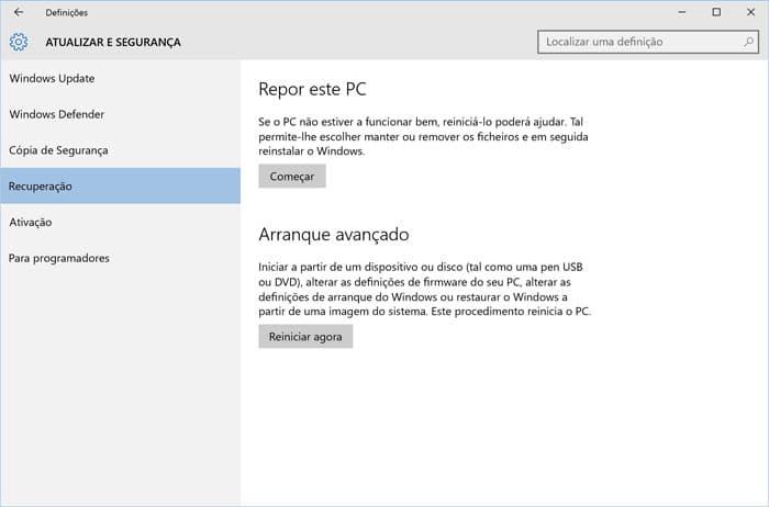03 - Limpe PC Windows 10