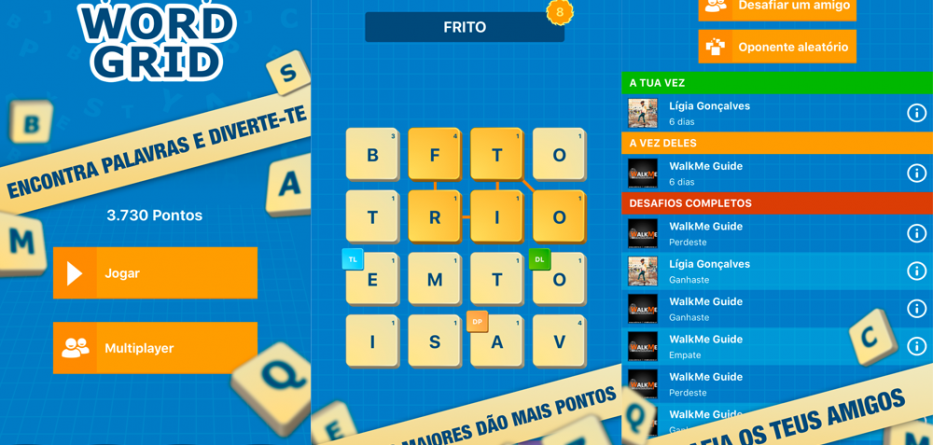 App do Dia - Word Grid