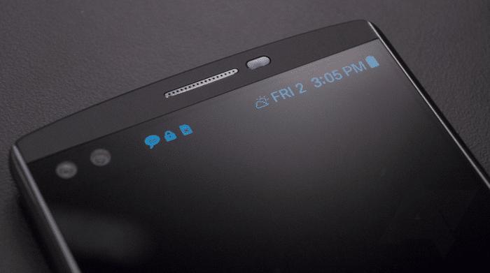 LG V10 ecrã