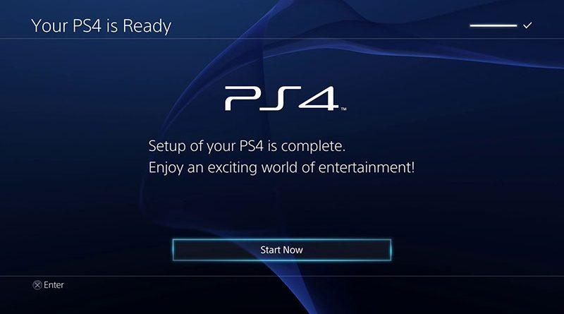 PS4 Ecrã