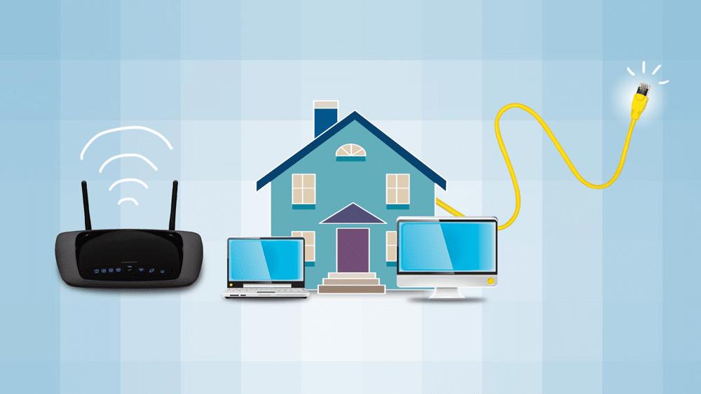 Configure a sua rede doméstica com o Windows 10