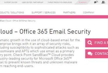 Check-Point-SandBlast-Cloud