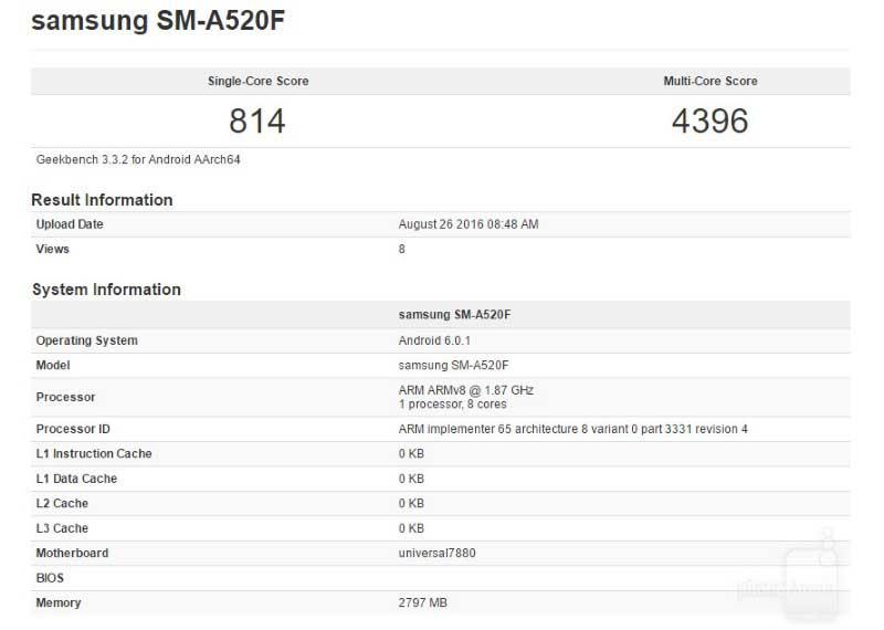Geekbench-SM-A520F