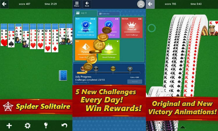 App do Dia - Microsoft Solitaire Collection - PCGuia