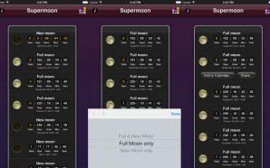 Supermoon app