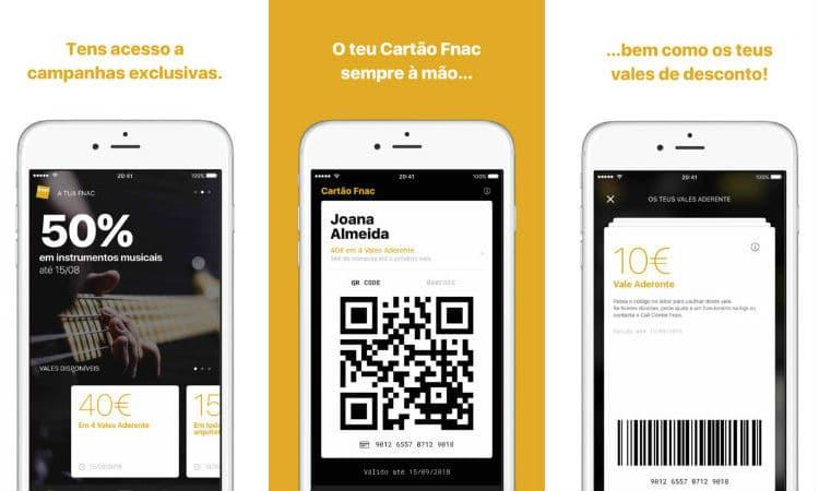 Cartão Fnac app