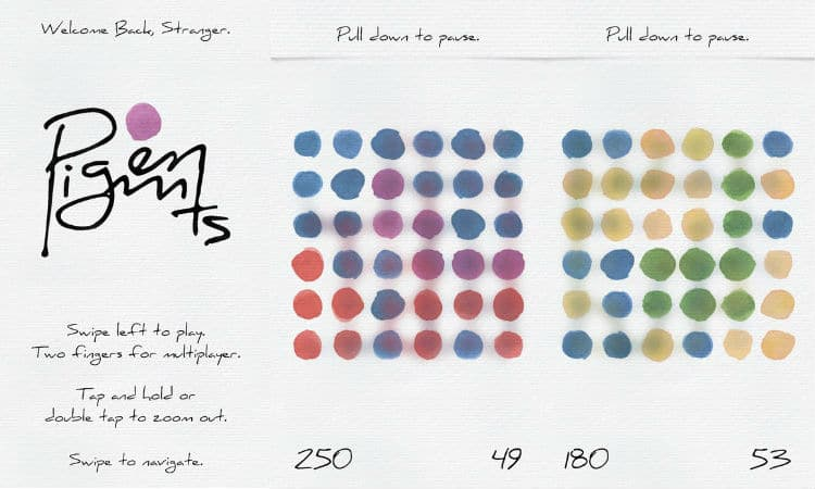 Pigments app