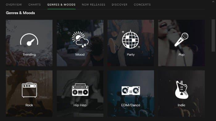 Genres & Moods_