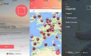 Registo Viajante app