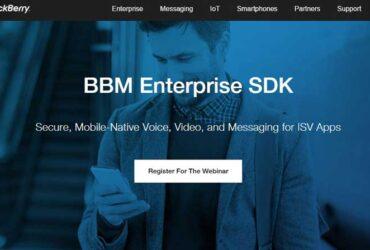 BBM-Enterprise-SDK