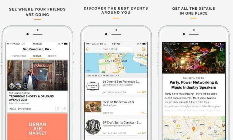 Eventbrite app