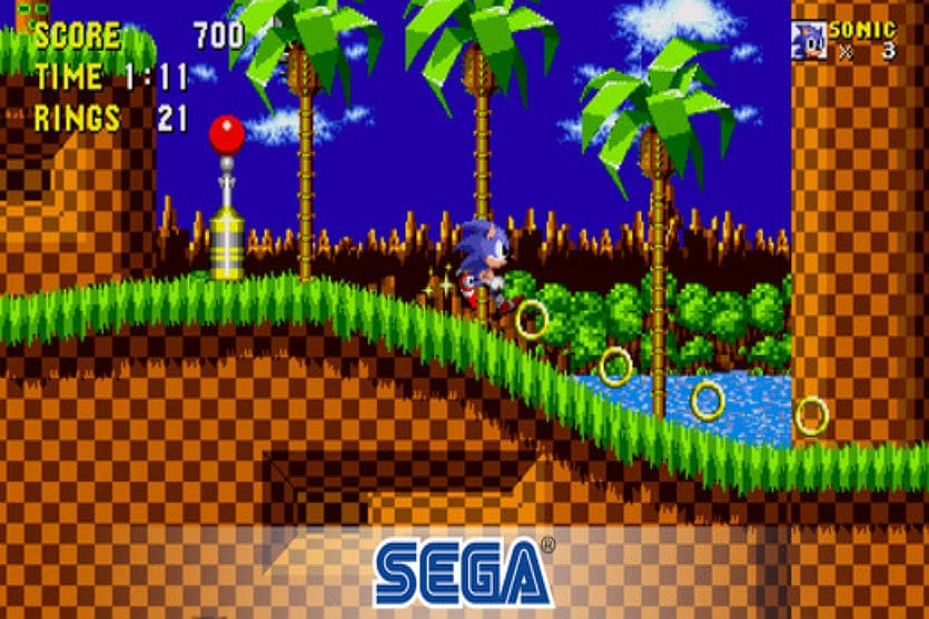 Sonic the hedgehog app