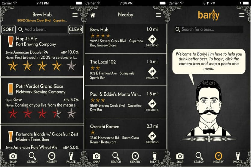 Barly app