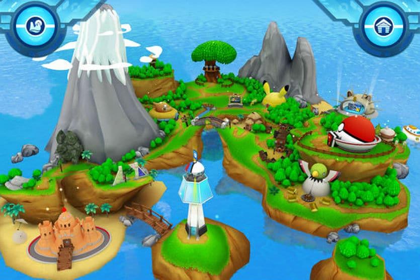 Camp Pokemon app