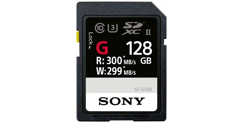 Sony SF-G128 sony sd - Sony SF G128  835x445 - Gadget – Sony SD UHS-II Série SF-G