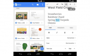 Google-Docs-Android-New