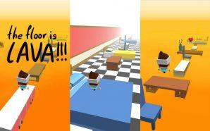 The Floor is Lava app