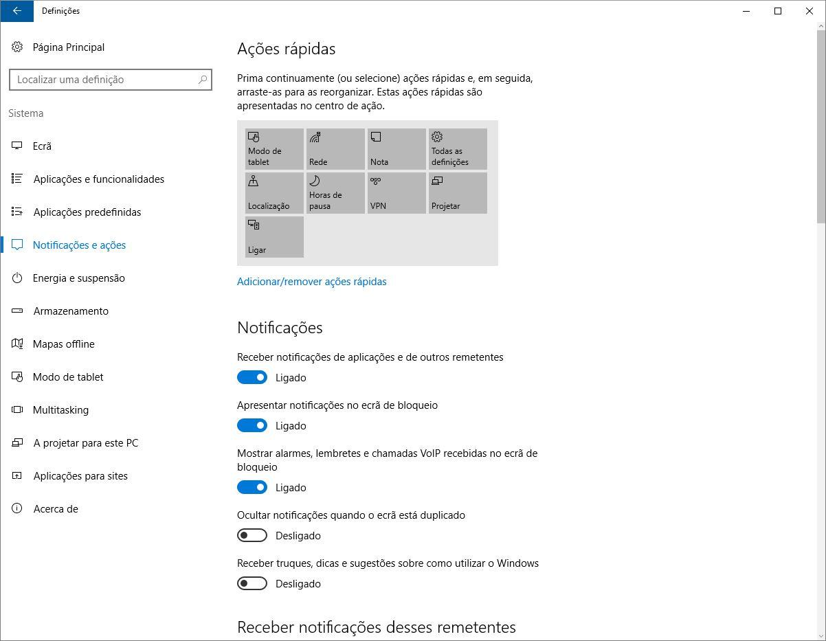 Bloquear sugestões Windows 10 windows 10 Elimine a publicidade no Windows 10 Bloquear sugest  es