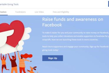 Facebook-Donations