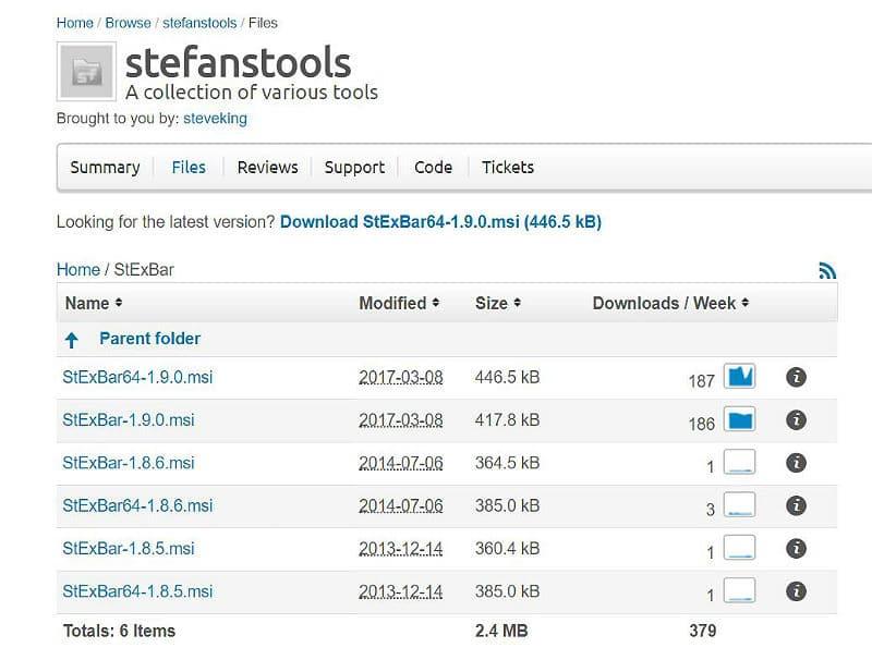 Stexbar 1