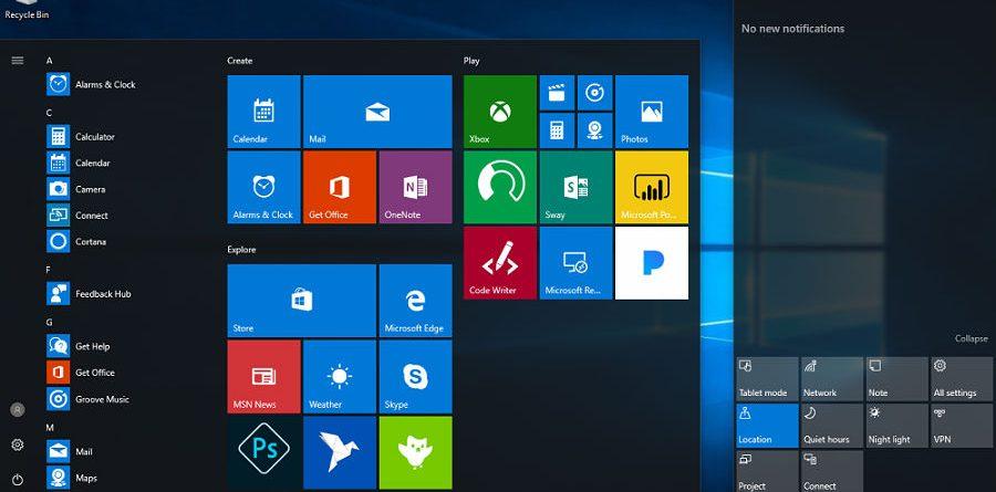 windows 10 Elimine a publicidade no Windows 10 Windows 10 900x445