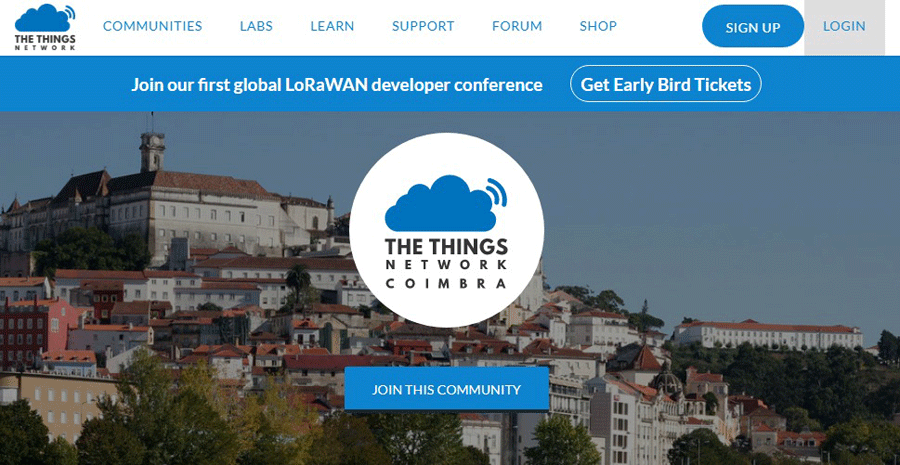 Coimbra-The-Things-Network