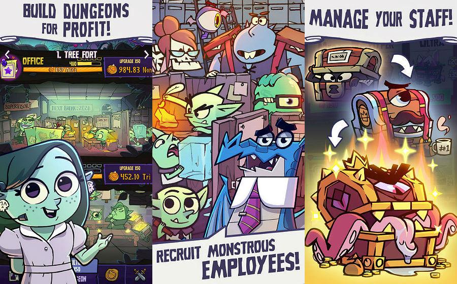 Dungeon Inc app