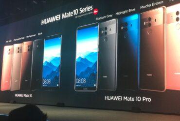 Linha Huawei Mate 10