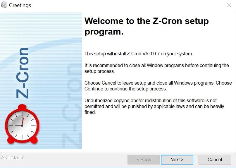 windows - ZCron 1 B - Copie, mova e apague ficheiros de forma automática no Windows