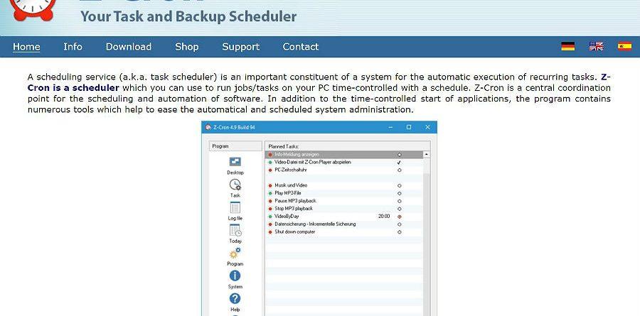 Zcron programa windows - Zcron programa  900x445 - Copie, mova e apague ficheiros de forma automática no Windows
