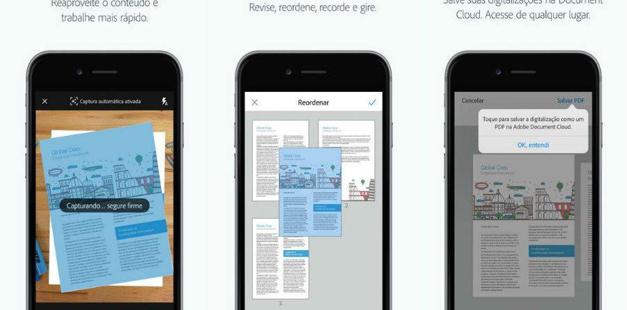 Adobe Scan app