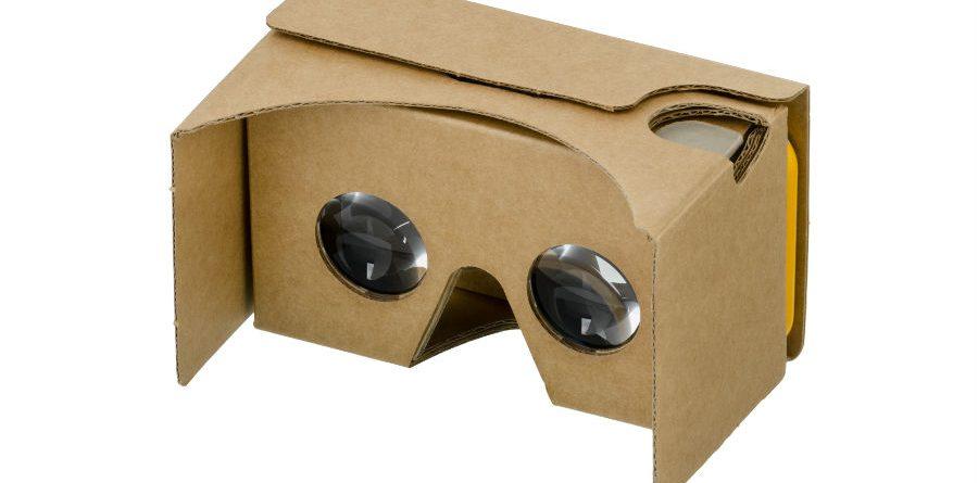 Google Cardboard smartphone - Google Cardboard  900x445 - Use o seu smartphone para correr jogos de realidade virtual