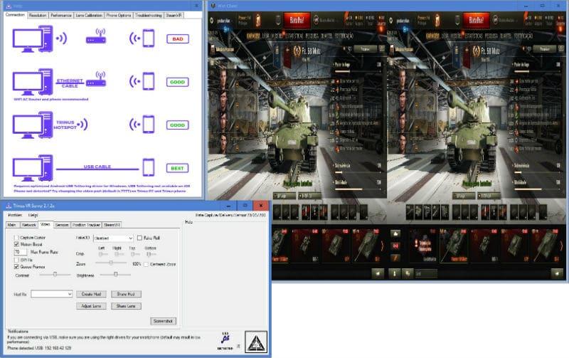 Passo 5 smartphone - Passo 5  - Use o seu smartphone para correr jogos de realidade virtual
