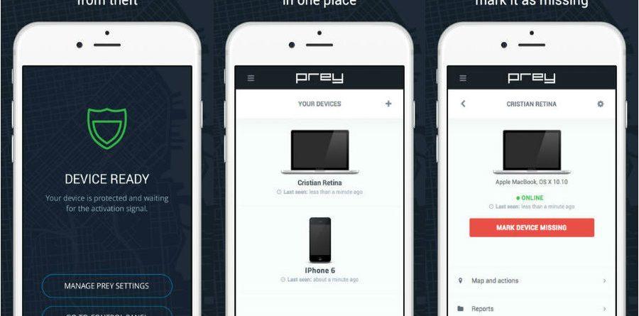 prey anti theft App do Dia – Prey Anti Theft Prey app  900x445
