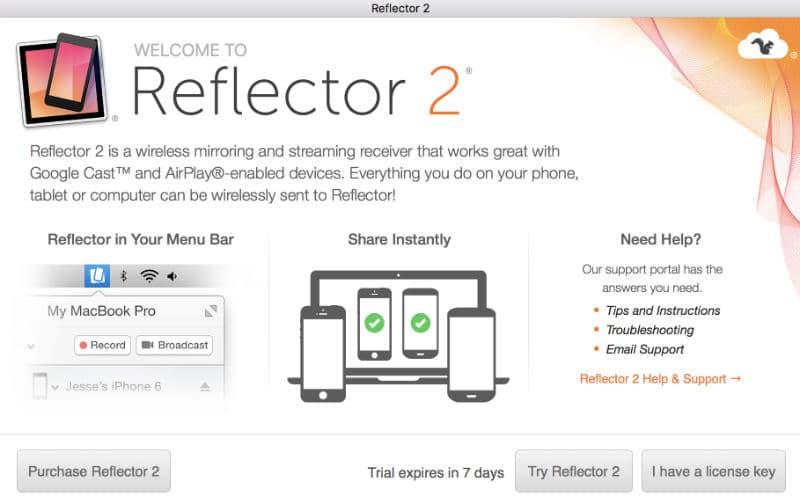 apple tv Transforme o Mac numa Apple TV Reflector 2 A