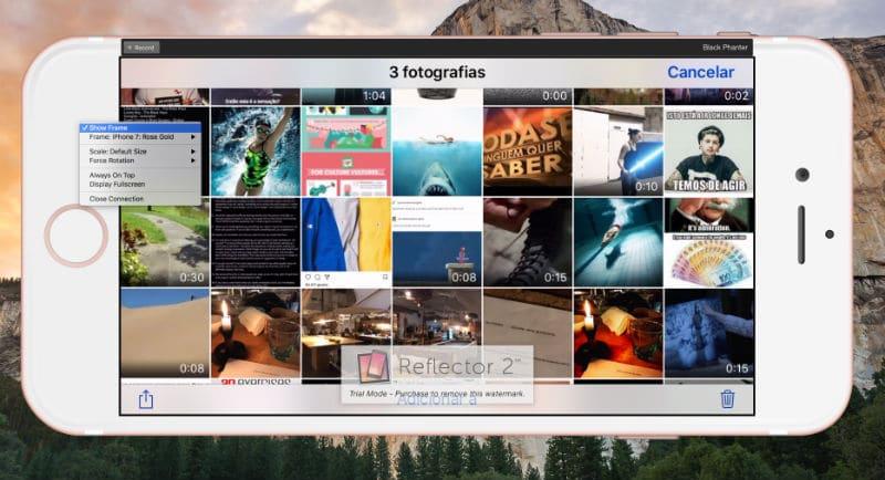 apple tv Transforme o Mac numa Apple TV Reflector 3
