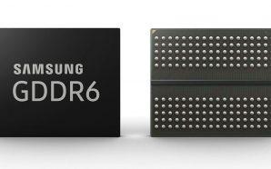 Memória Samsung GDDR6