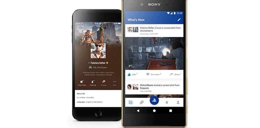 Sony-PlayStation-App sony Sony lança nova versão da PlayStation App Sony PlayStation App 900x445