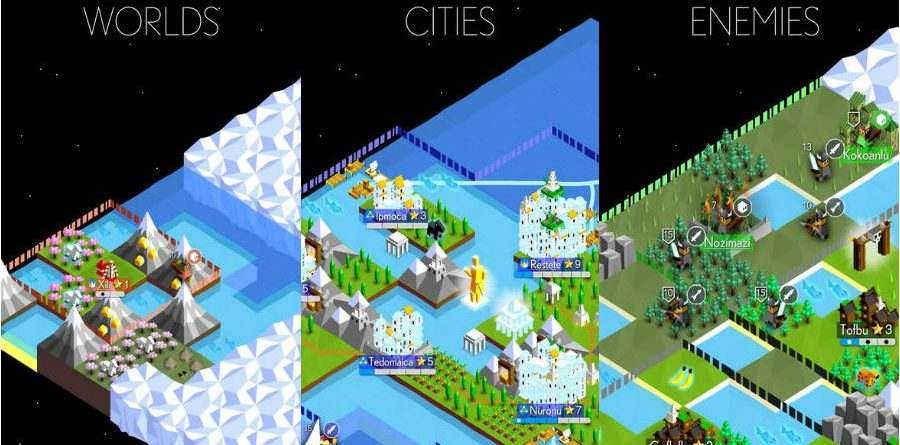 The Battle of Polytopia app