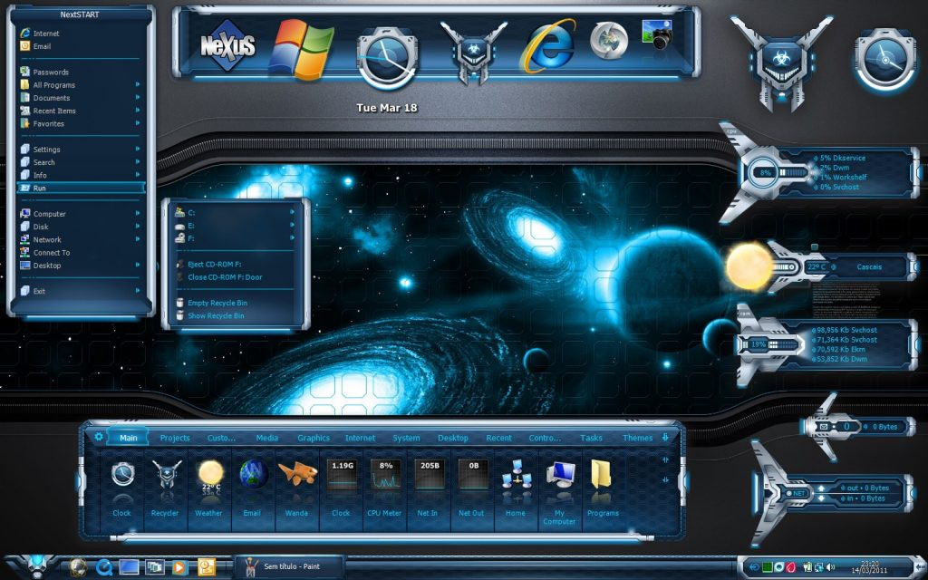 Winstep Nexus para Windows
