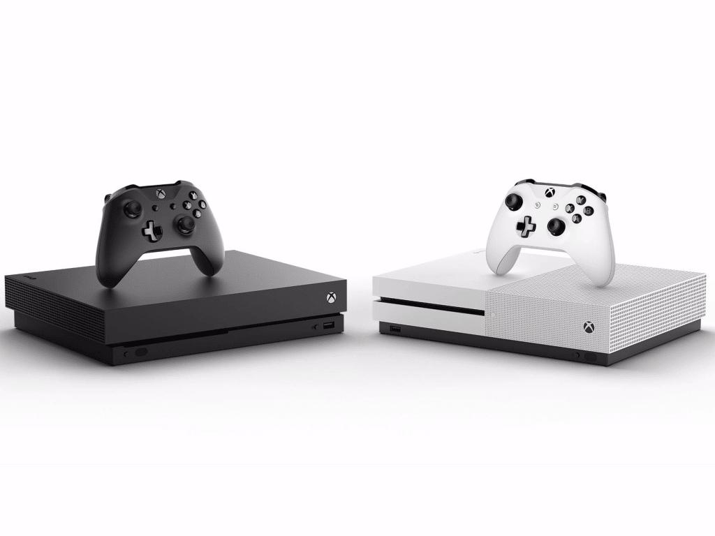 Xbox One X - XBox One S