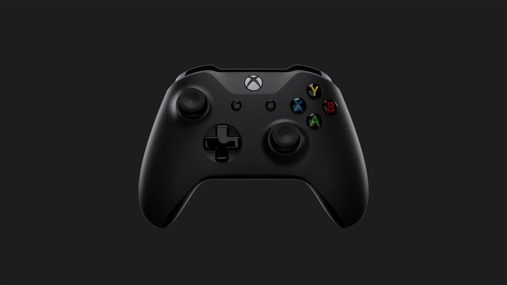 O comando da Xbox One X