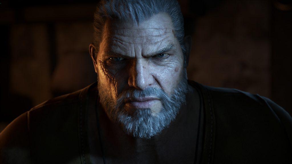 Marcus Fenix de Gears of War 4 em 4K
